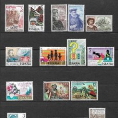 Sellos: SPAIN 1976 LOT STAMPS COMPLETE SETS MNH - 12/26. Lote 121814143