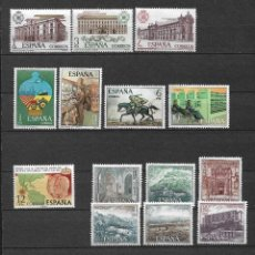 Sellos: SPAIN 1976 LOT STAMPS COMPLETE SETS MNH - 12/26. Lote 121814155