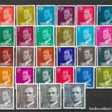 Sellos: SPAIN 1976 - 1981 LOT STAMPS KING JUAN CARLOS MNH - 12/28. Lote 121815059