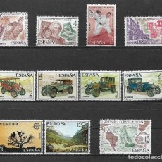 Sellos: SPAIN 1977 LOT STAMPS COMPLETE SETS MH - 12/28. Lote 121815107