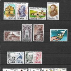Sellos: SPAIN 1976 LOT STAMPS COMPLETE SETS MNH - 12/29. Lote 121815539
