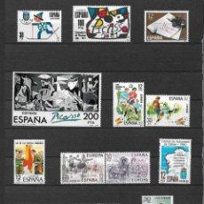 Sellos: ESPAÑA 1981 LOTE SERIES COMPLETAS ** - 12/35. Lote 121816591
