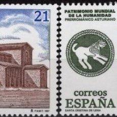 Sellos: ESPAÑA 1997. EDIFIL 3508/09 MNH. BIENES CULTURALES Y NATURALES PATRIMONIO MUNDIAL DE LA HUMANIDAD. Lote 121840039