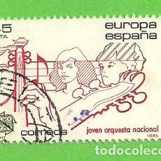 Sellos: EDIFIL 2789. EUROPA-CEPT. - JOVEN ORQUESTA NACIONAL. (1985).. Lote 121901775