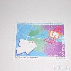 Sellos: ESPAÑA DIA MUNDIAL DE LAS COMUNICACIONES 1993. Lote 122232339