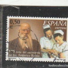 Sellos: ESPAÑA 2002 - EDIFIL NRO. 3895 - USADO - . Lote 122266779