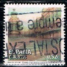 Sellos: EDIFIL 4787 A, ARTE CONTEMPORANEO, ANTONIO LOPEZ: GRAN VIA, USADO. Lote 122275227