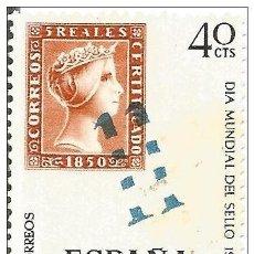 Sellos: == S193 - SELLO ESPAÑA - DIA MUNDIAL DEL SELLO 1967 - 40 CTS. Lote 122494391