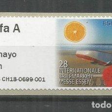 Sellos: ESPAÑA ATM 28 INTERNATIONALE BRIEFMARKEN ESSEN TARIFA A MAQUINA P5ES. Lote 211434855