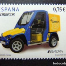 Sellos: ESPAÑA ESPAGNE 2013 VOITURE POSTAL (EUROPE) EDIFIL 4791 ** MNH YVERT 4486 ** MNH. Lote 122717107
