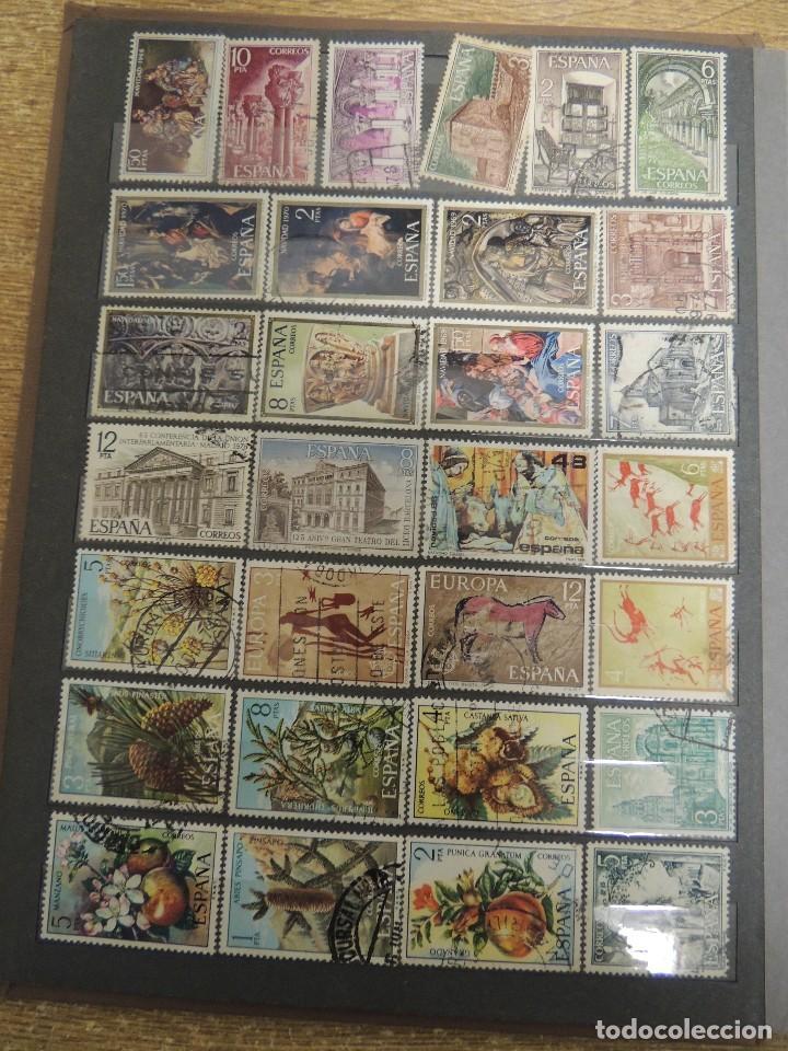 Sellos: clasificador sellos España usados 360 pzs - Foto 3 - 122827243