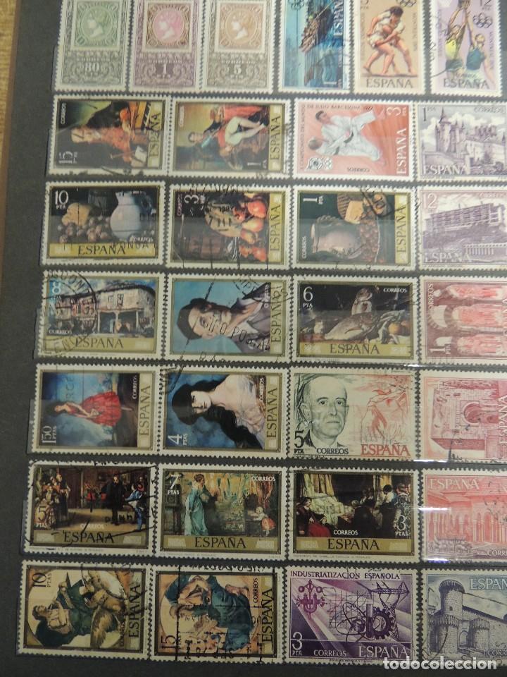 Sellos: clasificador sellos España usados 360 pzs - Foto 5 - 122827243