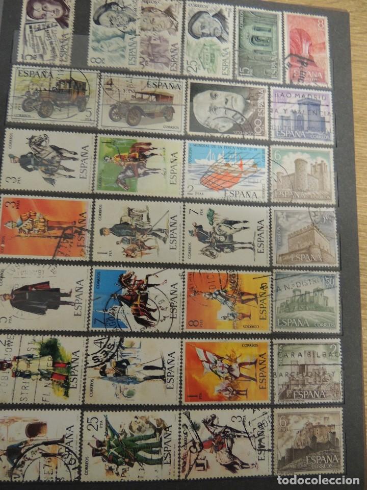 Sellos: clasificador sellos España usados 360 pzs - Foto 6 - 122827243