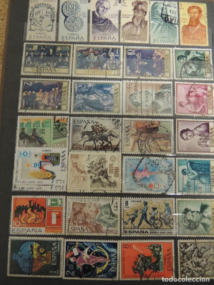 Sellos: clasificador sellos España usados 360 pzs - Foto 7 - 122827243