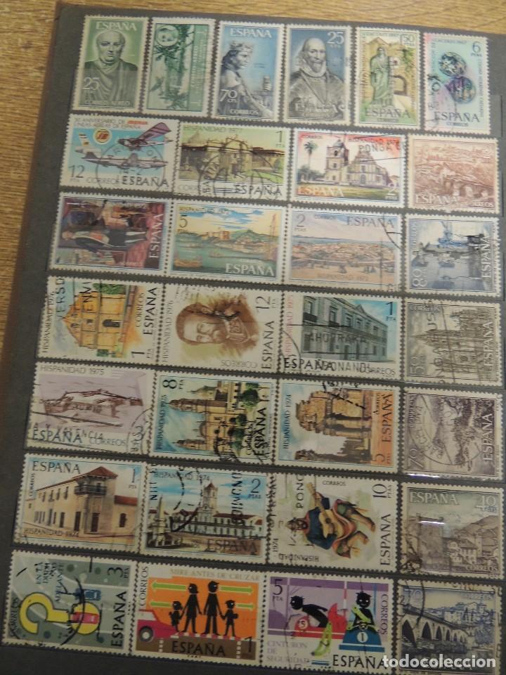 Sellos: clasificador sellos España usados 360 pzs - Foto 9 - 122827243