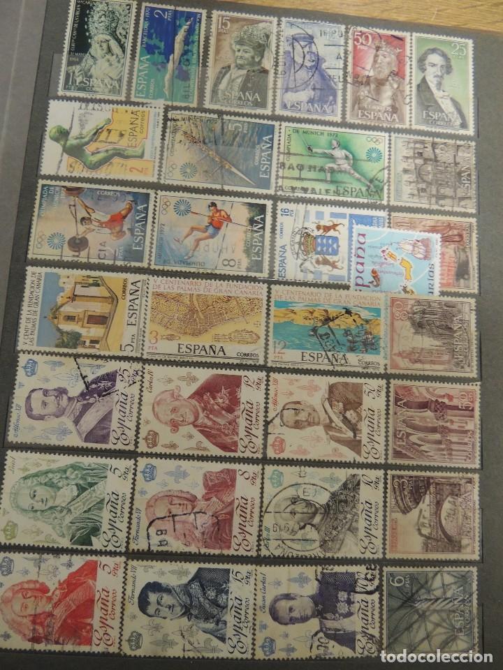 Sellos: clasificador sellos España usados 360 pzs - Foto 10 - 122827243