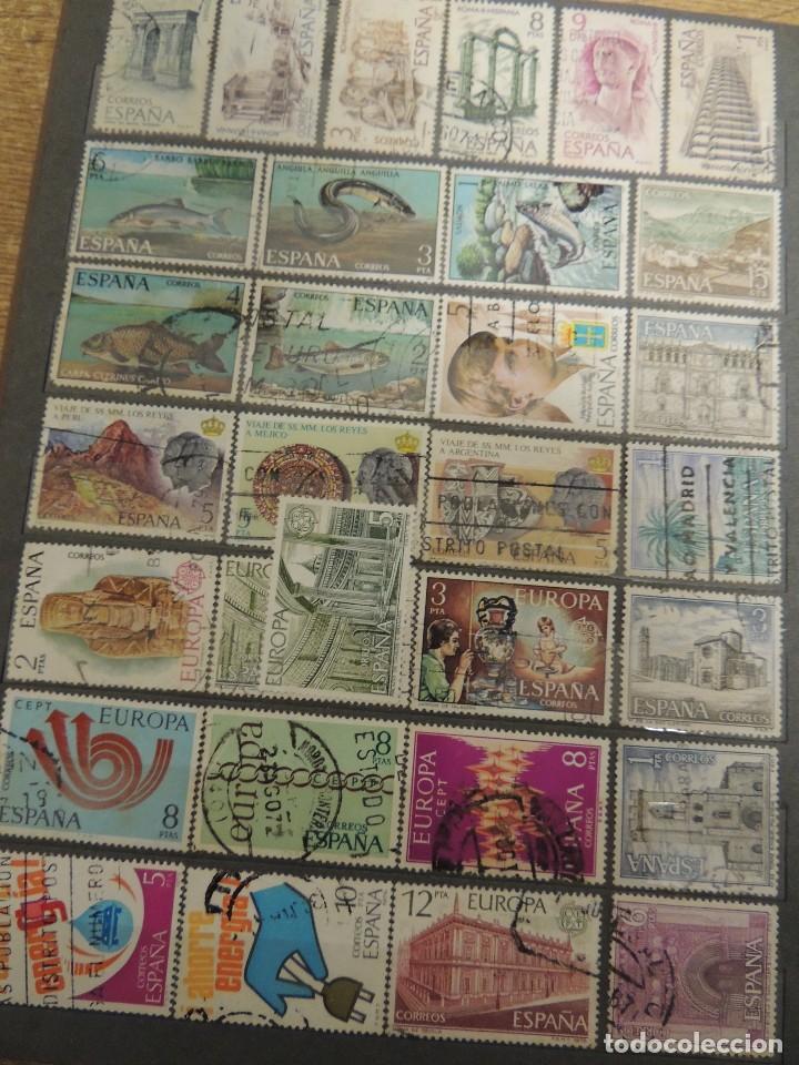 Sellos: clasificador sellos España usados 360 pzs - Foto 11 - 122827243