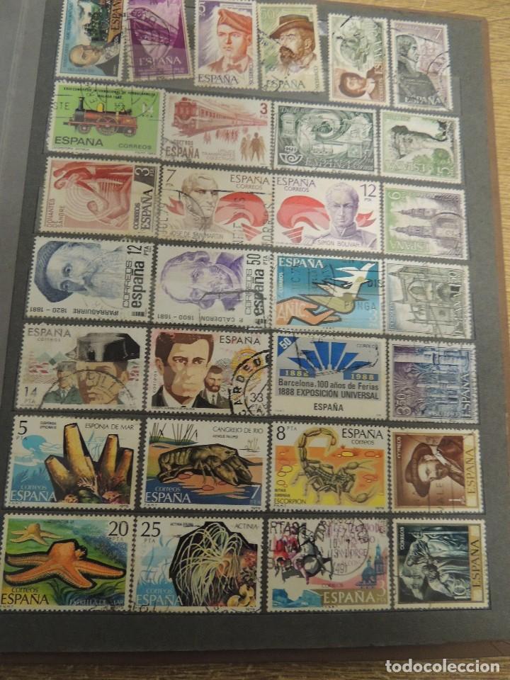 Sellos: clasificador sellos España usados 360 pzs - Foto 12 - 122827243