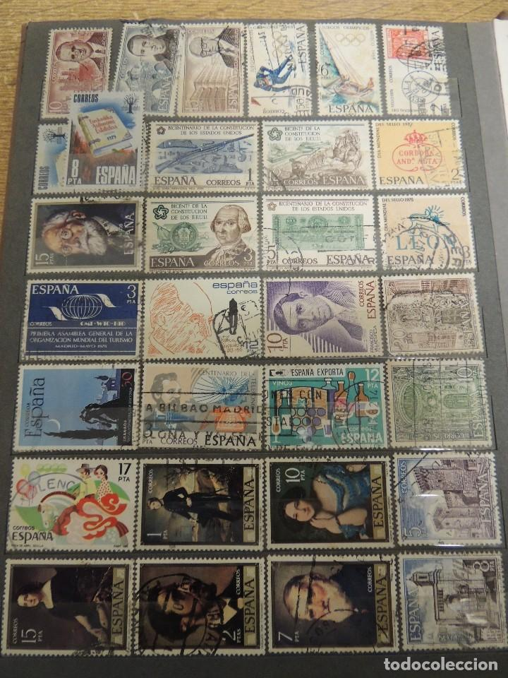 Sellos: clasificador sellos España usados 360 pzs - Foto 13 - 122827243