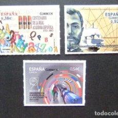 Sellos: ESPAÑA ESPAGNE 2014 INVESTIGACIÓN NUCLEAR-JUAN PONCE DE LEÓN-ACADEMIA ESPAÑOLA EDIFIL 4847/49 ** . Lote 130850433