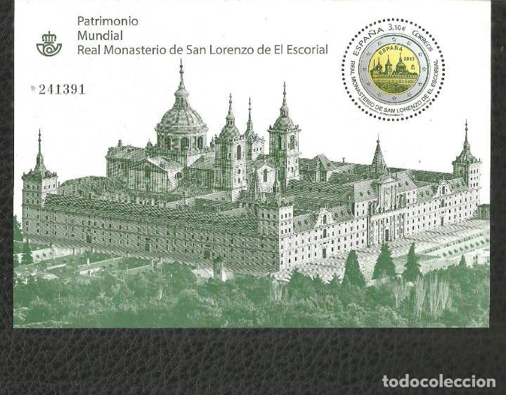 ESPAÑA MONASTERIO DE EL ESCORIAL HOJA BLOQUE EDIFIL NUM. 4789 ** NUEVA SIN FIJASELLOS (Sellos - España - Juan Carlos I - Desde 2.000 - Nuevos)