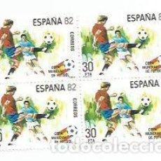 Sellos: ESPAÑA 82 COPA MUNDIAL DE FUTBOL. Lote 124666887