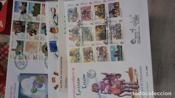 Sellos: Colección de S.P.D. muy completa de 1966 a 2007 montada en tres cajas. Alto Valor Catálogo. - Foto 3 - 127554379