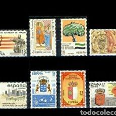 Sellos: SERIE ESPAÑA 1984 EDIFIL 2735/42 NUEVA. Lote 127570943