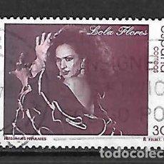 Sellos: LOLA FLORES. ESPAÑA. SELLO EMIT. 14-6-1996. Lote 128138483