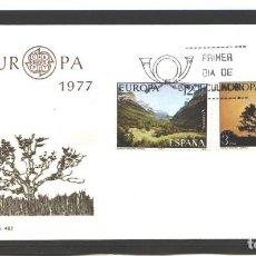 Sellos: ESPAÑA 1977 - SPD EDIFIL NRO. 2413-14 - EUROPA - NUEVO . Lote 128144431