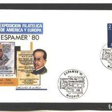 Sellos: ESPAÑA 1976 - SPD EDIFIL NRO. 2345 - JUAN CARLOS I - 2.- PTA - NUEVO-MATASELLO ESPAMER '80. Lote 128144867