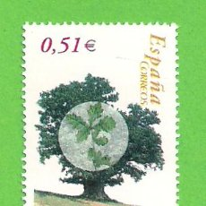 Sellos: EDIFIL 4023. ÁRBOLES. - ROBLE. (2003).** NUEVO Y SIN FIJASELLOS.. Lote 128381599