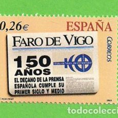 Sellos: EDIFIL 4027. DIARIOS CENTENARIOS. - ''FARO DE VIGO''. (2003).** NUEVO Y SIN FIJASELLOS.. Lote 128383047
