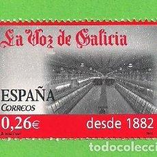 Sellos: EDIFIL 4029. DIARIOS CENTENARIOS. - ''LA VOZ DE GALICIA'' (2003).** NUEVO Y SIN FIJASELLOS.. Lote 128383303