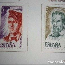 Sellos: ESPAÑA - 4 SELLOS - PERSONAJES ESPAÑOLES EDIFIL Nº 2398 A 2401 NUEVOS. Lote 128384115