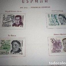 Sellos: ESPAÑA 1978 2456/9 SELLOS NUEVOS SERIE PERSONAJES ESPAÑOLES COMPLETA. Lote 128389715