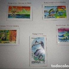 Sellos: ESPAÑA 1978 2469/73 SELLOS NUEVOS PROTECCION DE LA NATURALEZA COMPLETA. Lote 128389755
