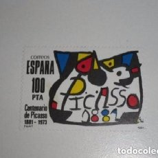 Sellos: ESPAÑA EDIFIL 2609. AÑO 1981.- CENTENARIO DE PICASSO NUEVO. Lote 128390003