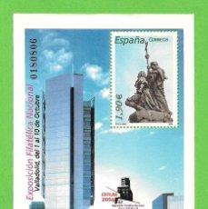 Sellos: EDIFIL 4117 H.B. EXPOSICIÓN FILATÉLICA NACIONAL EXFILNA 2004. (2004).** NUEVO SIN FIJASELLOS.. Lote 128436743