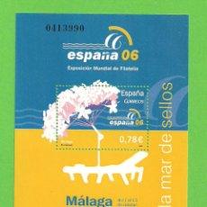 Sellos: EDIFIL 4241 H.B. EXPOSICIÓN MUNDIAL DE FILATELIA ESPAÑA 2006. (2006).** NUEVO Y SIN FIJASELLOS.. Lote 128457147