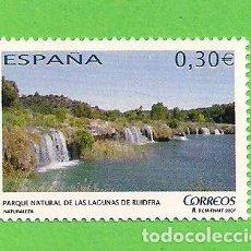 Sellos: EDIFIL 4347. NATURALEZA - PARQUE NATURAL DE LAS LAGUNAS DE RUIDERA. (2007).** NUEVO Y SIN FIJASELLOS. Lote 128648211