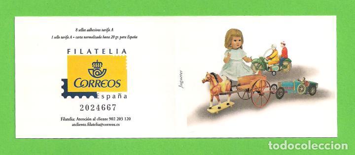 Sellos: EDIFIL 4199-4200-4201-4202-4203-4204-4205-4206. CARNÉ - JUGUETES. (2006).** NUEVOS - TARIFA A. - Foto 2 - 128761387