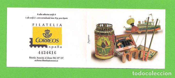 Sellos: EDIFIL 4368C. (4368-4375). JUGUETES ANTIGUOS. (2008).** NUEVOS - TARIFA A. - Foto 2 - 128766899
