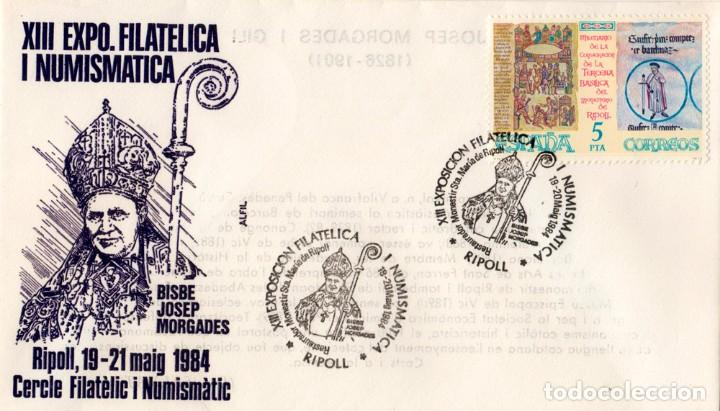 XIII EXPO. FILATELICA I NUMISMATICA 1984 (Sellos - España - Juan Carlos I - Desde 1.975 a 1.985 - Cartas)