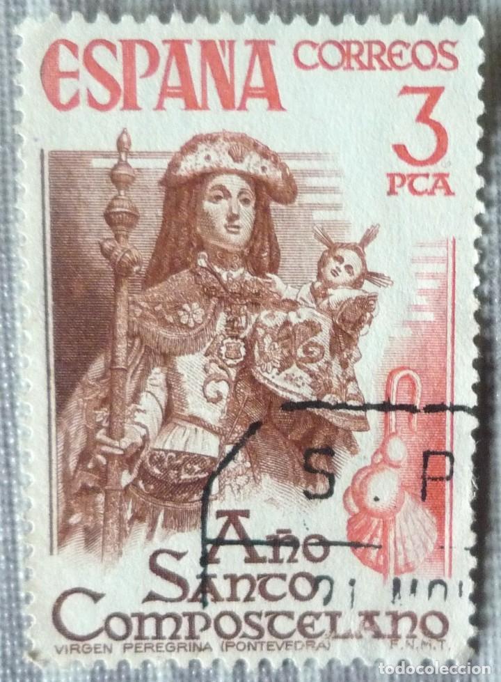 SELLO DE ESPAÑA. TEMA: AÑO SANTO COMPOSTELANO (Sellos - España - Juan Carlos I - Desde 1.975 a 1.985 - Usados)