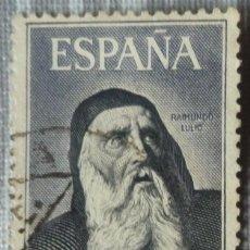 Sellos: SELLO DE ESPAÑA. TEMA: RETRATO DE RAIMUNDO LULIO. Lote 129574347