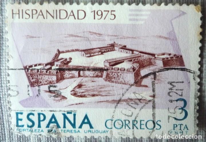 SELLO DE ESPAÑA. TEMA: HISPANIDAD 1975 (Sellos - España - Juan Carlos I - Desde 1.975 a 1.985 - Usados)