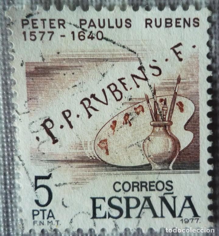 SELLO DE ESPAÑA. TEMA: PETER PAULUS RUBENS (Sellos - España - Juan Carlos I - Desde 1.975 a 1.985 - Usados)