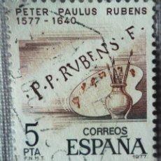 Sellos: SELLO DE ESPAÑA. TEMA: PETER PAULUS RUBENS. Lote 129575127