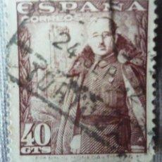 Sellos: SELLO DE ESPAÑA DE 40 CENTIMOS. Lote 129575599